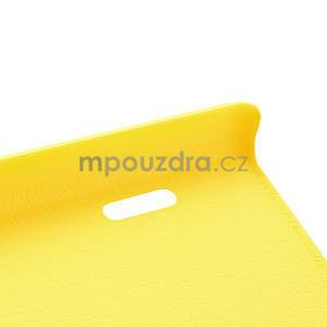 Texturované pouzdro pro LG Optimus L7 P700- žluté - 7