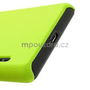Texturované pouzdro pro LG Optimus L7 P700- zelené - 7