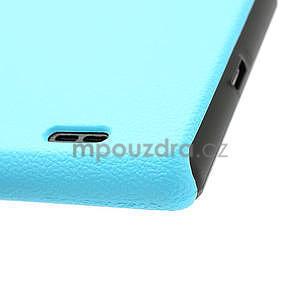 Texturované pouzdro pro LG Optimus L7 P700- modré - 7