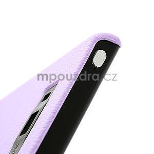 Texturované pouzdro pro LG Optimus L7 P700- fialové - 7