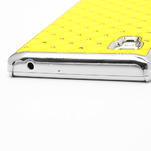 Drahokamové pouzdro pro LG Optimus L9 P760- žluté - 7/7