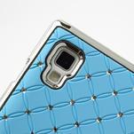Drahokamové pouzdro pro LG Optimus L9 P760- světlemodré - 7/7
