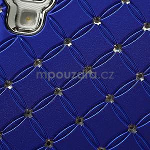 Drahokamové pouzdro pro LG Optimus L9 P760- modré - 7