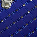 Drahokamové pouzdro pro LG Optimus L9 P760- modré - 7/7