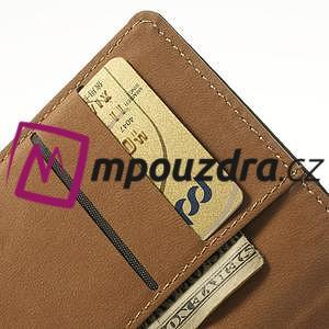 Peněženkové pouzdro na Nokia Lumia 520 - černé - 7