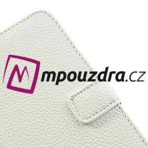 Peněženkové pouzdro na Nokia Lumia 625 - bílé - 7