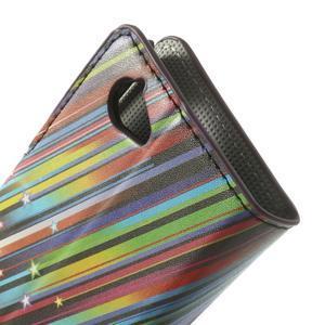 Peněženkové pouzdro na Sony Xperia L C2105 - meteor - 7