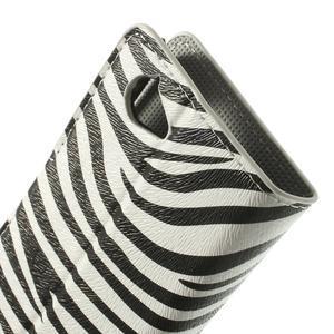 Peněženkové pouzdro na Sony Xperia L C2105 - zebrovité - 7