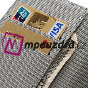 Peněženkové pouzdro na Sony Xperia Z C6603 - zebrované - 7