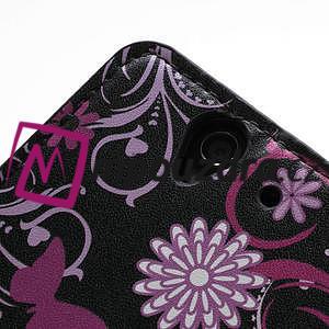 Peněženkové pouzdro na Sony Xperia Z C6603 - motýlci - 7