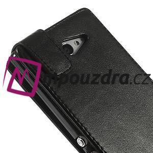 Flipové pouzdro na Sony Xperia M2 D2302 - černé - 7