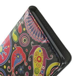 Peněženkové pouzdro na Sony Xperia M2 D2302- vzorové - 7