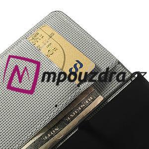 Peněženkové pouzdro na Sony Xperia Z1 Compact D5503 - zebrované - 7