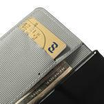 Peněženkové pouzdro na Sony Xperia Z1 Compact D5503 - zebrované - 7/7