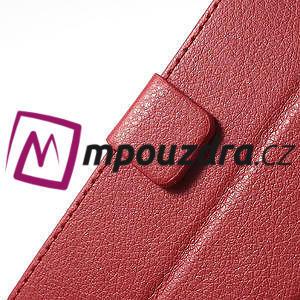 Peněženkové pouzdro na LG Optimus L9 II D605 - červené - 7