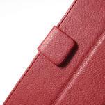 Peněženkové pouzdro na LG Optimus L9 II D605 - červené - 7/7