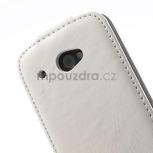 Flipové pouzdro pro HTC Desire 601- bílé - 7