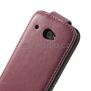 Flipové pouzdro pro HTC Desire 601- růžové - 7