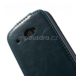 Flipové pouzdro pro HTC Desire 601- modré - 7