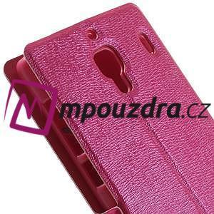 Peněženkové pouzdro na Xiaomi Hongmi Red Rice- růžové - 7