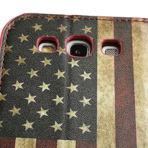 Peněženkové pouzdro na Samsung Galaxy S3 i9300- USA vlajka - 7