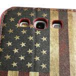 Peněženkové pouzdro na Samsung Galaxy S3 i9300- USA vlajka - 7/7