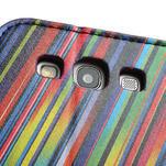 Peněženkové pouzdro na Samsung Galaxy S3 i9300- meteor - 7/7