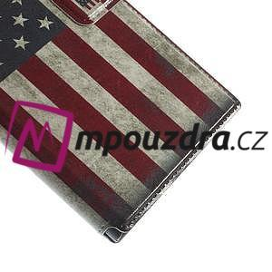 Flipové pouzdro na Xiaomi Mi3- USA vlajka - 7