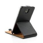 Flipové PU kožené pouzdro na Samsung Galaxy Note 3- černé - 7/7
