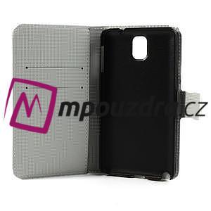 Peněženkové pouzdro na Samsung Galaxy Note 3- zebrované - 7