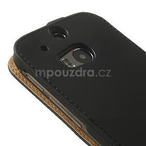Flipové pouzdro pro HTC one M8- černé - 7