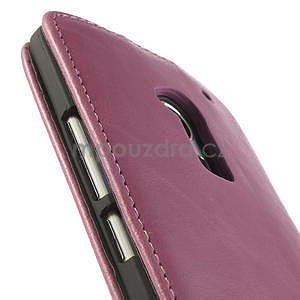 Flipové pouzdro HTC one Max- růžové - 7