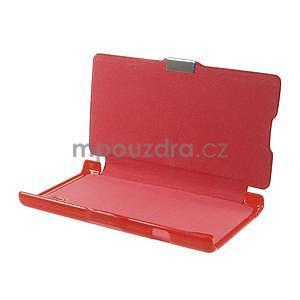 Flipové pouzdro pro LG Optimus L9 P760- červené - 7