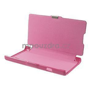 Flipové pouzdro pro LG Optimus L9 P760- růžové - 7
