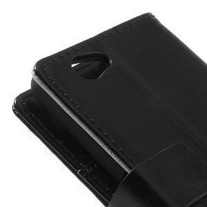 Peněženkové pouzdro na Sony Xperia Z1 Compact D5503- černé - 7