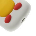 Silikonový TUČŃÁK pouzdro na Samsung Galaxy S3 mini i8190- bílý - 7/7