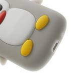 Silikonový TUČŃÁK pouzdro na Samsung Galaxy S3 mini i8190- šedý - 7/7