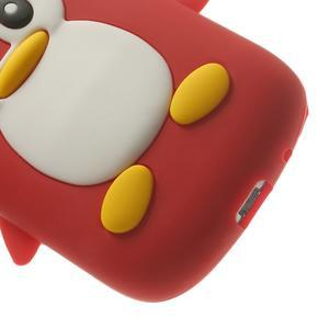 Silikonový TUČŃÁK pouzdro na Samsung Galaxy S3 mini i8190- červený - 7