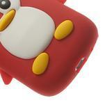 Silikonový TUČŃÁK pouzdro na Samsung Galaxy S3 mini i8190- červený - 7/7