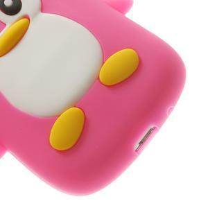 Silikonový TUČŃÁK pouzdro na Samsung Galaxy S3 mini i8190- růžový - 7