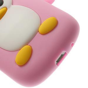 Silikonový TUČŃÁK pouzdro na Samsung Galaxy S3 mini i8190- světlerůžový - 7
