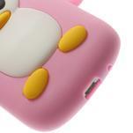 Silikonový TUČŃÁK pouzdro na Samsung Galaxy S3 mini i8190- světlerůžový - 7/7