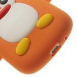 Silikonový TUČŃÁK pouzdro na Samsung Galaxy S3 mini i8190- oranžový - 7/7
