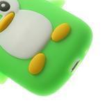 Silikonový TUČŃÁK pouzdro na Samsung Galaxy S3 mini i8190- zelený - 7/7