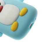 Silikonový TUČŃÁK pouzdro na Samsung Galaxy S3 mini i8190- světlemodrý - 7/7