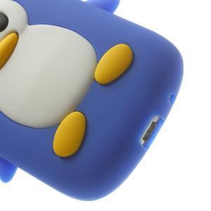 Silikonový TUČŃÁK pouzdro na Samsung Galaxy S3 mini i8190- modrý - 7