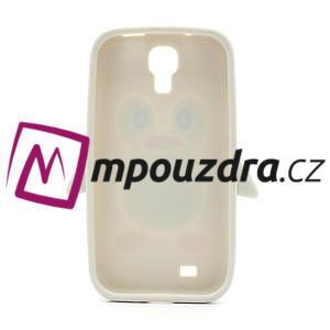 Silikonový Tučňák pouzdro pro Samsung Galaxy S4 i9500- šedý - 7