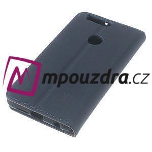 Clothy peněženkové pouzdro na mobil Honor 8 - tmavěmodré - 7