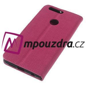Clothy peněženkové pouzdro na mobil Honor 8 - rose - 7