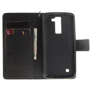 Style PU kožené pouzdro na LG K8 - nešahat - 7
